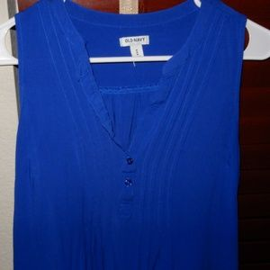 Old Navy Sleeveless Pleated Chest Dress